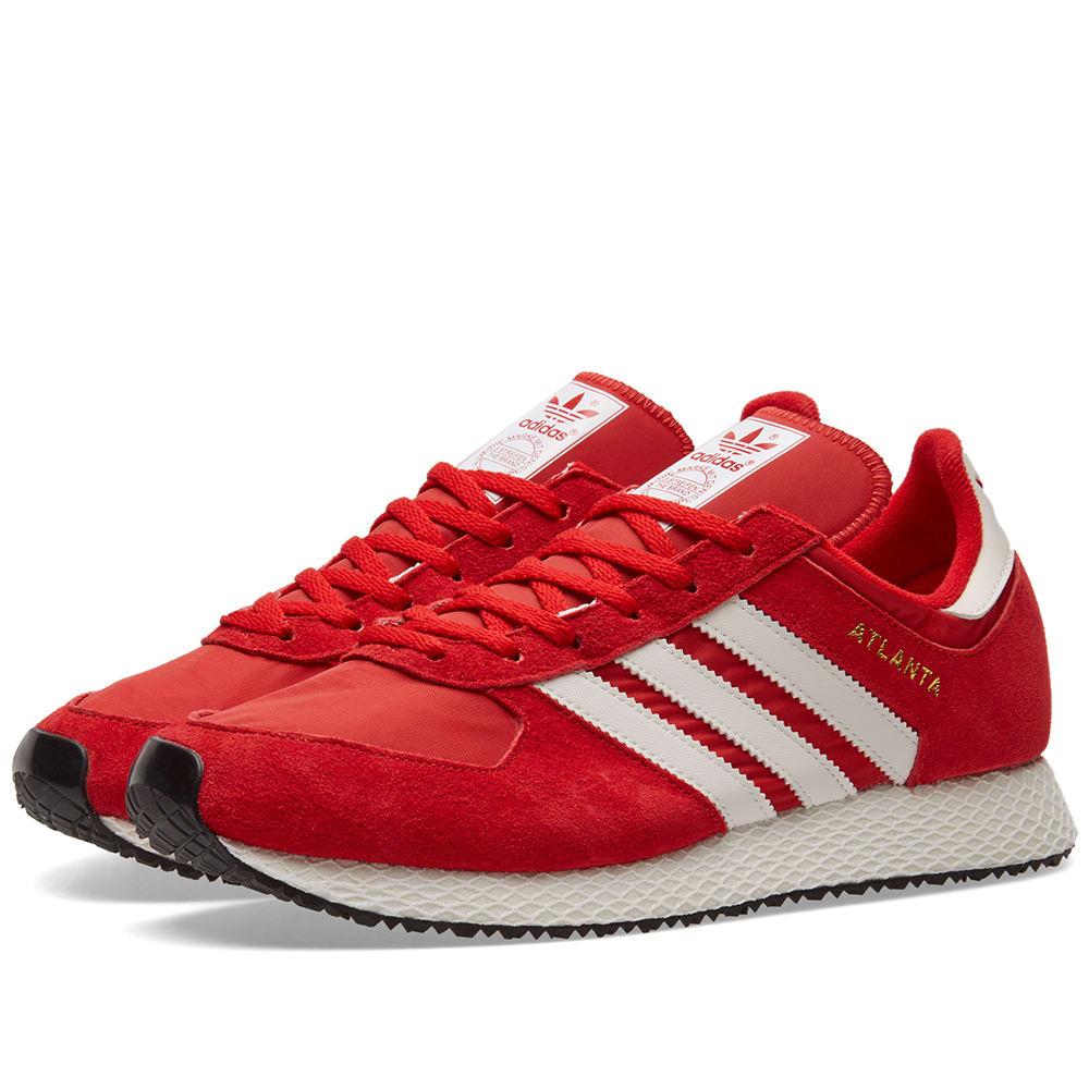 Cuna ellos chupar  Adidas SPZL Atlanta Scarlet & White | END.