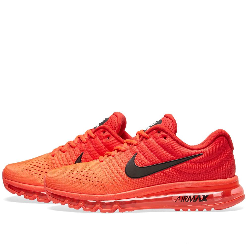 reputable site 5b949 ec83b Nike Air Max 2017 Bright Crimson   Black   END.