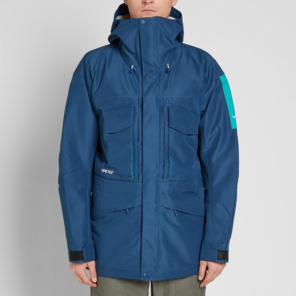 a70586dca1e1 The North Face Fantasy Ridge Gore-Tex Jacket Blue Wing Teal