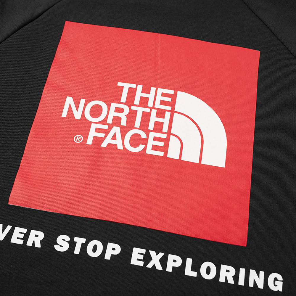 e2948fc04 The North Face Raglan Red Box Hoody