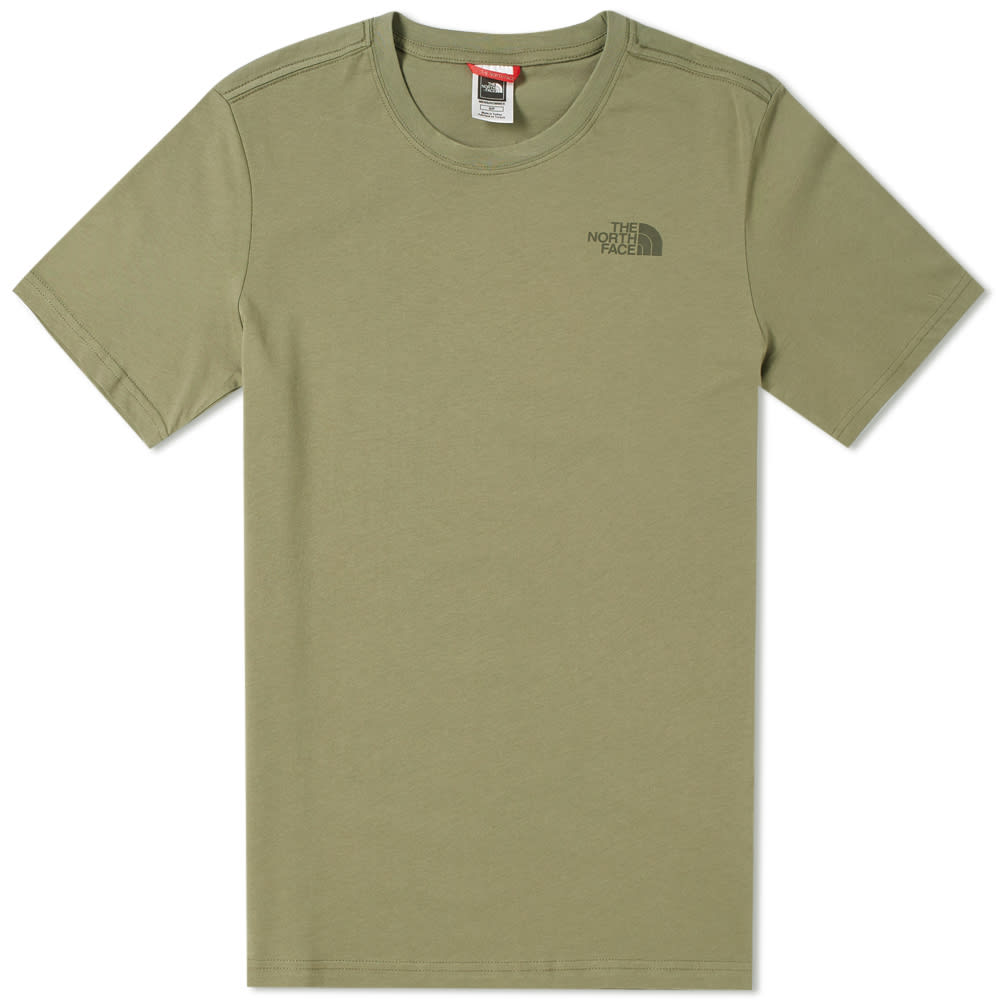f875eec3b The North Face Red Box Tee