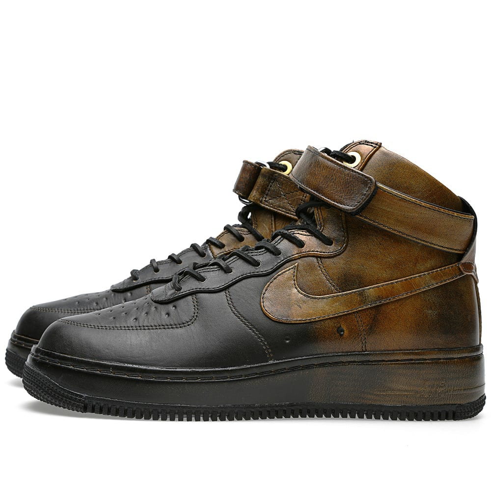 detailed look b2724 7a5d1 Nike x Pigalle Air Force 1 Hi NG LW SP Black   END.