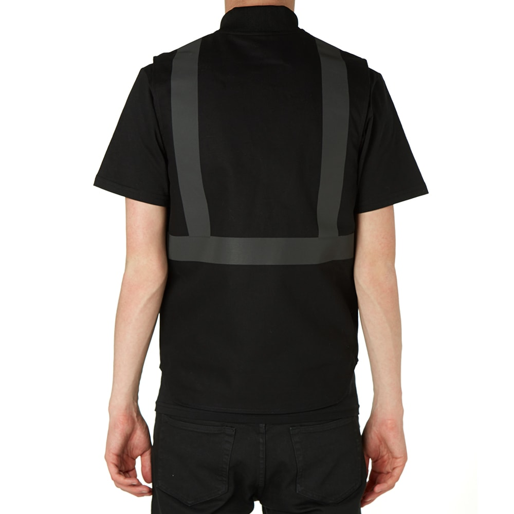 Carhartt X Slam Jam Reflective Vest Black