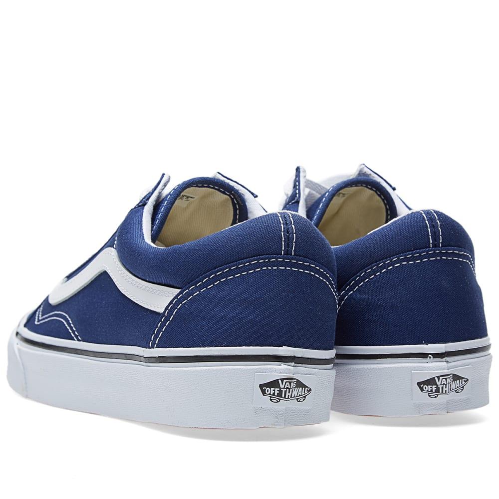 8eba1f67137b Vans Old Skool Twilight Blue & True White | END.