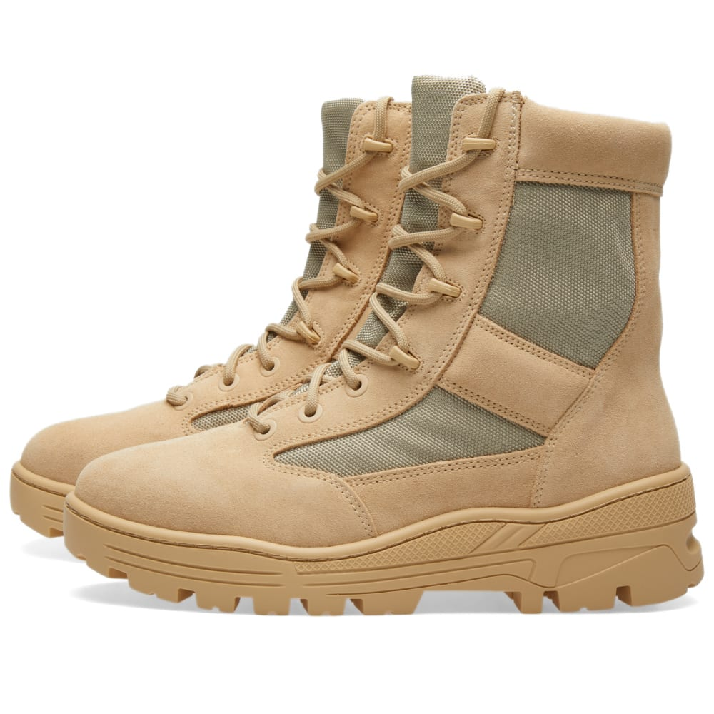 8a0e1720df8d1 Yeezy Season 4 Combat Boot Sand