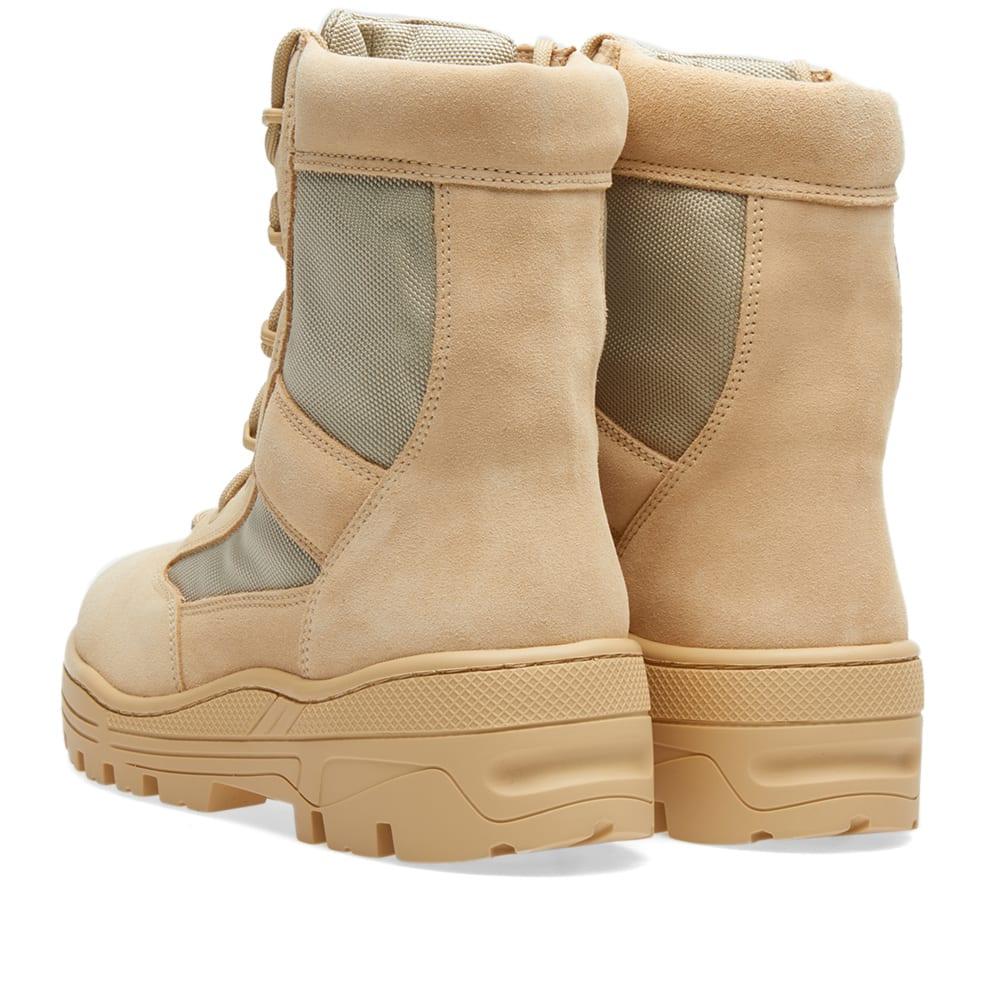 fc2c065a71273 Yeezy Season 4 Combat Boot Sand