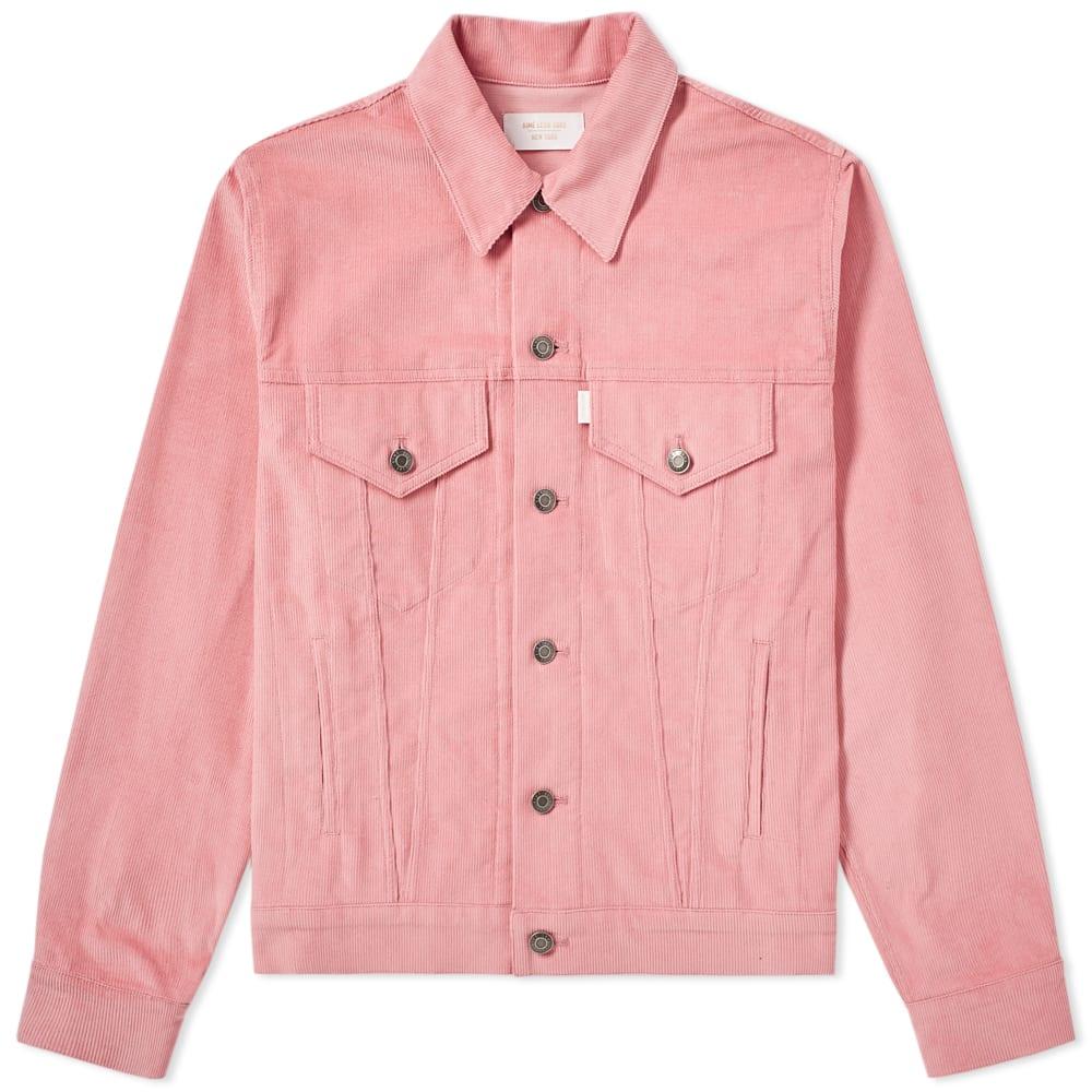 176a9a46a2e38 Aimé Leon Dore Corduroy Trucker Jacket Dusty Pink