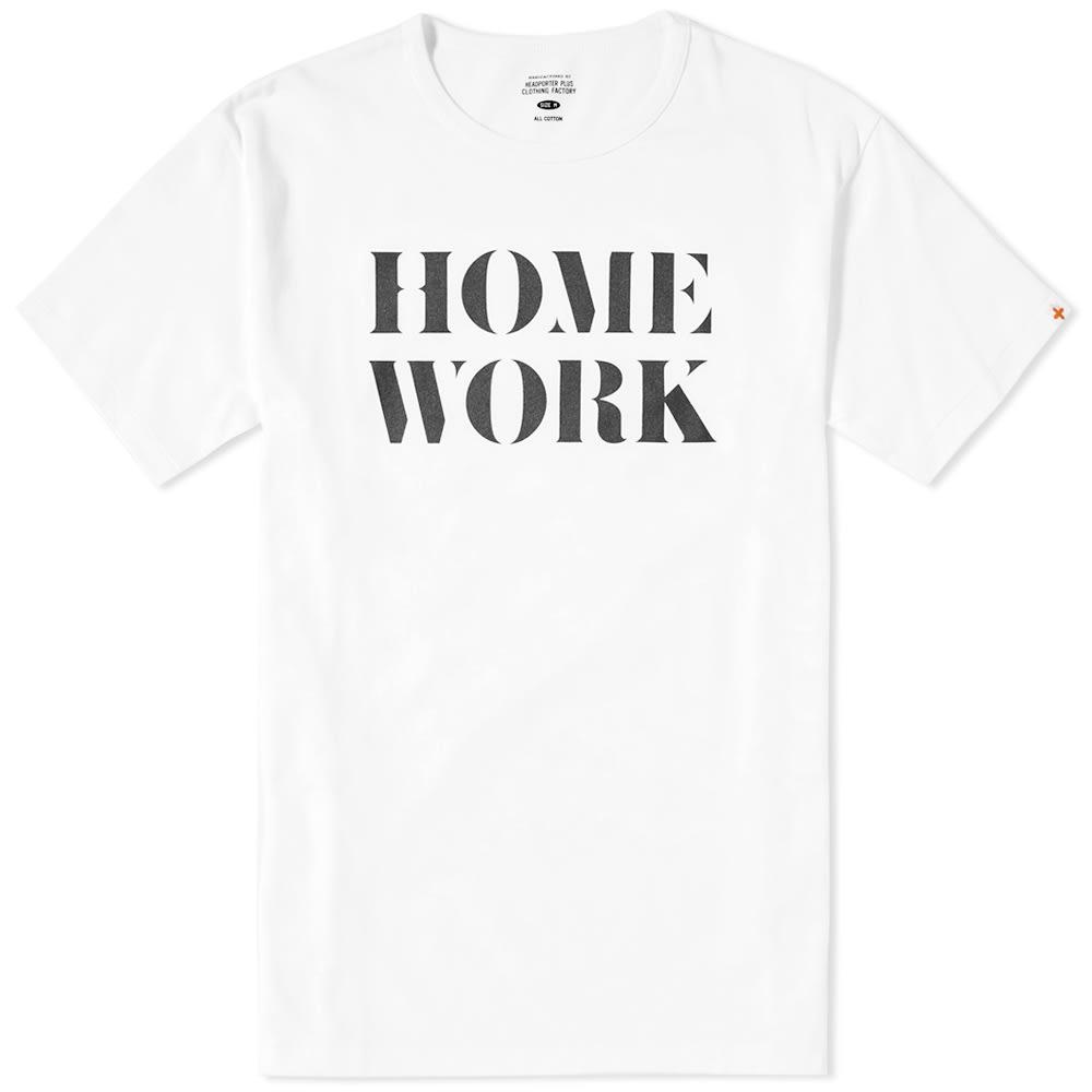 HEAD PORTER PLUS HOME WORK TEE