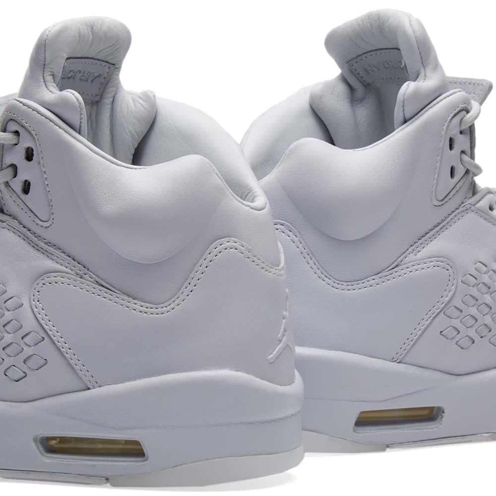best sneakers c878f 2a5b7 Nike Air Jordan 5 Premium. Pure Platinum