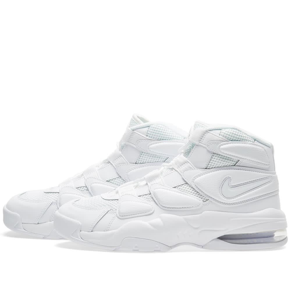 cheap for discount 13682 8506e Nike Air Max 2 Uptempo '94 Triple White | END.