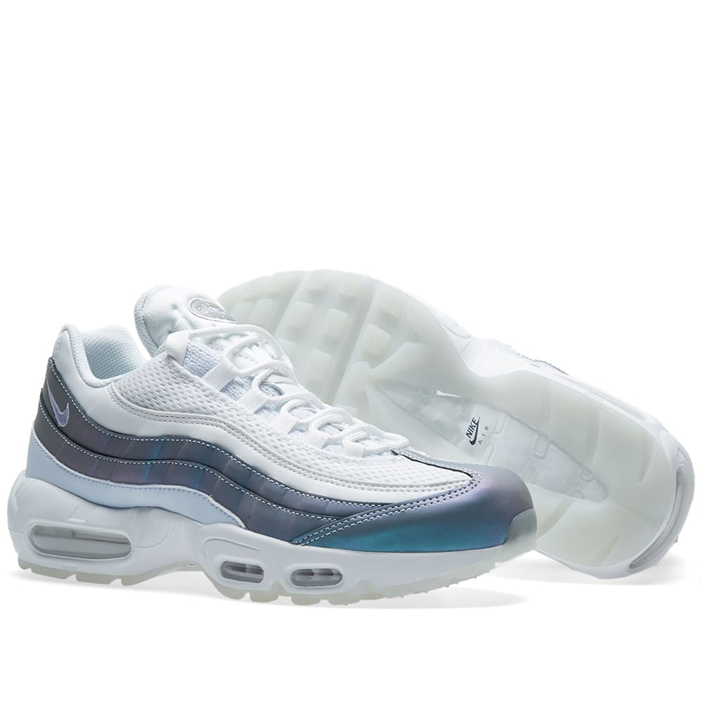 watch a26d2 70e8a Nike Air Max 95 Premium. Glacier Blue ...