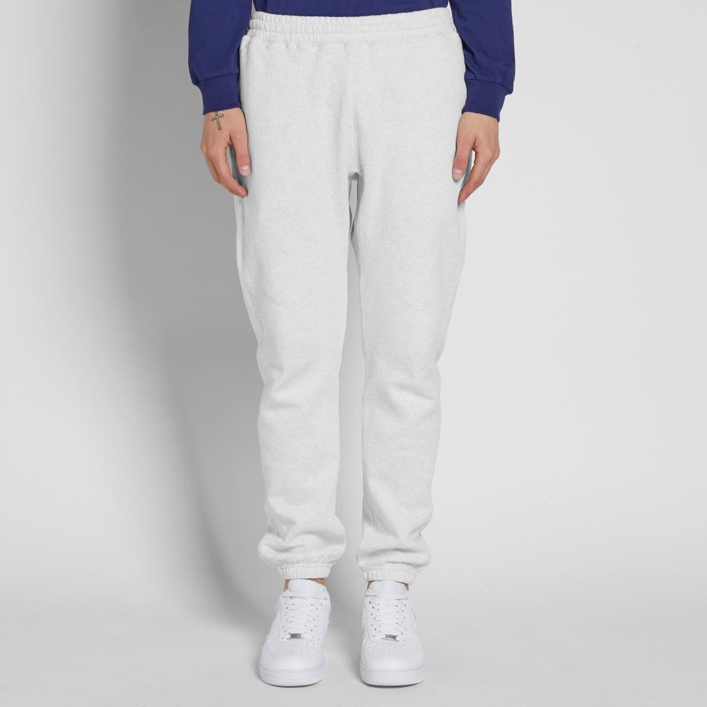 de3a60c7 Stussy Stock Fleece Pant White Heather | END.