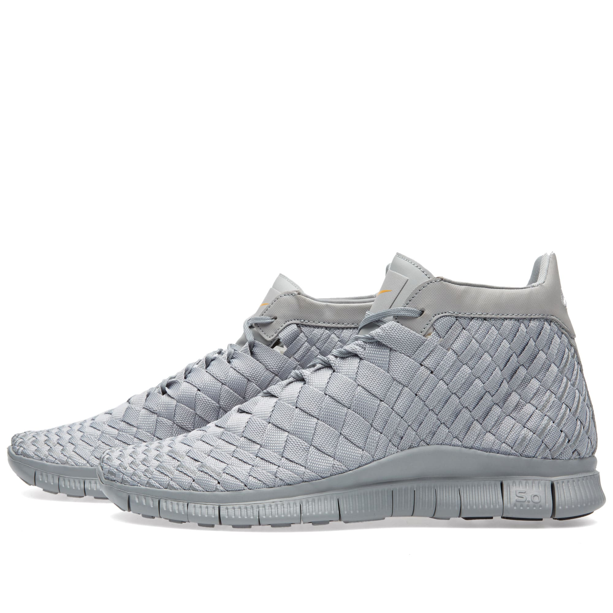 new concept 1157b b6a91 Nike Free Inneva Woven Mid SP Matte Silver   END.