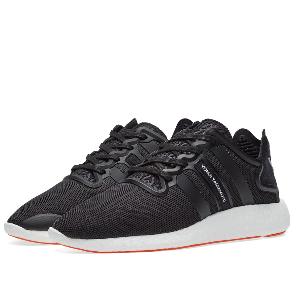 1cc6d9822270f Y-3 Yohji Run Core Black   White
