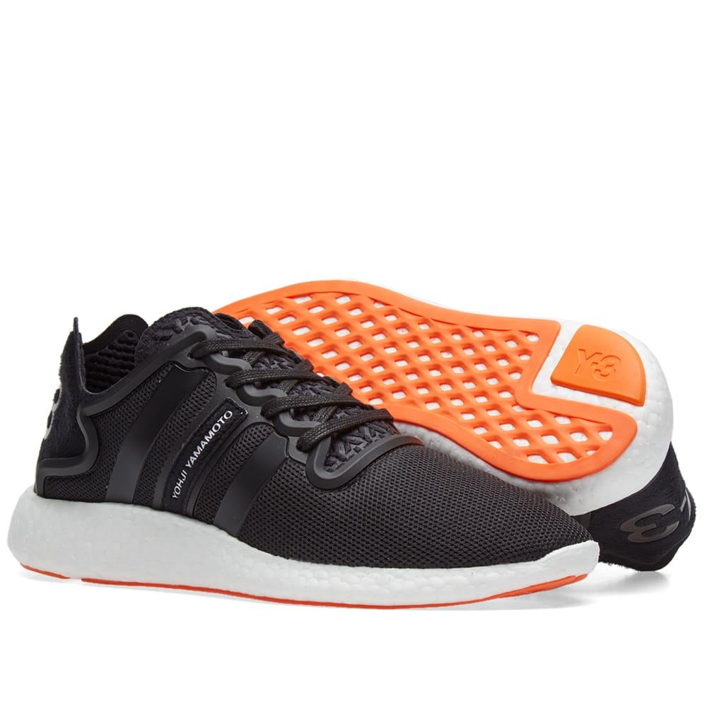 3c09ee5c991f7 Y-3 Yohji Run Core Black   White