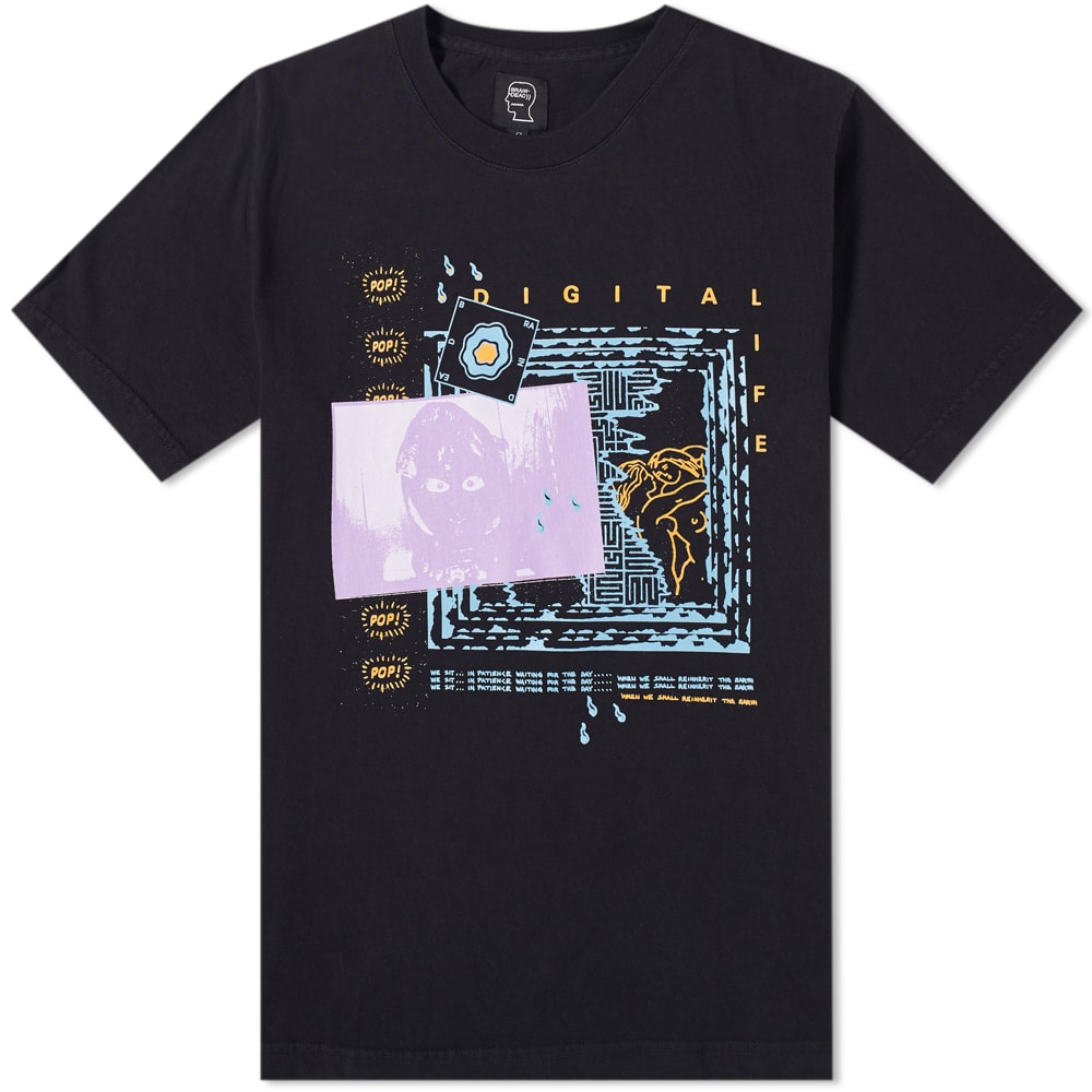 BRAIN DEAD DIGITAL LIFE TEE