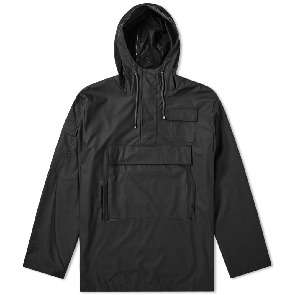 3f972afb4 Rains Camp Anorak Black | END.