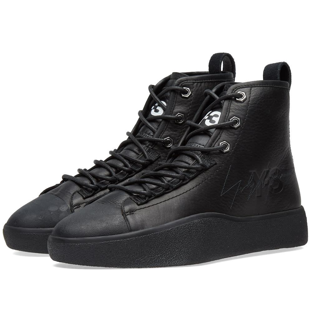 1b892f216 Y-3 Bashyo II Black