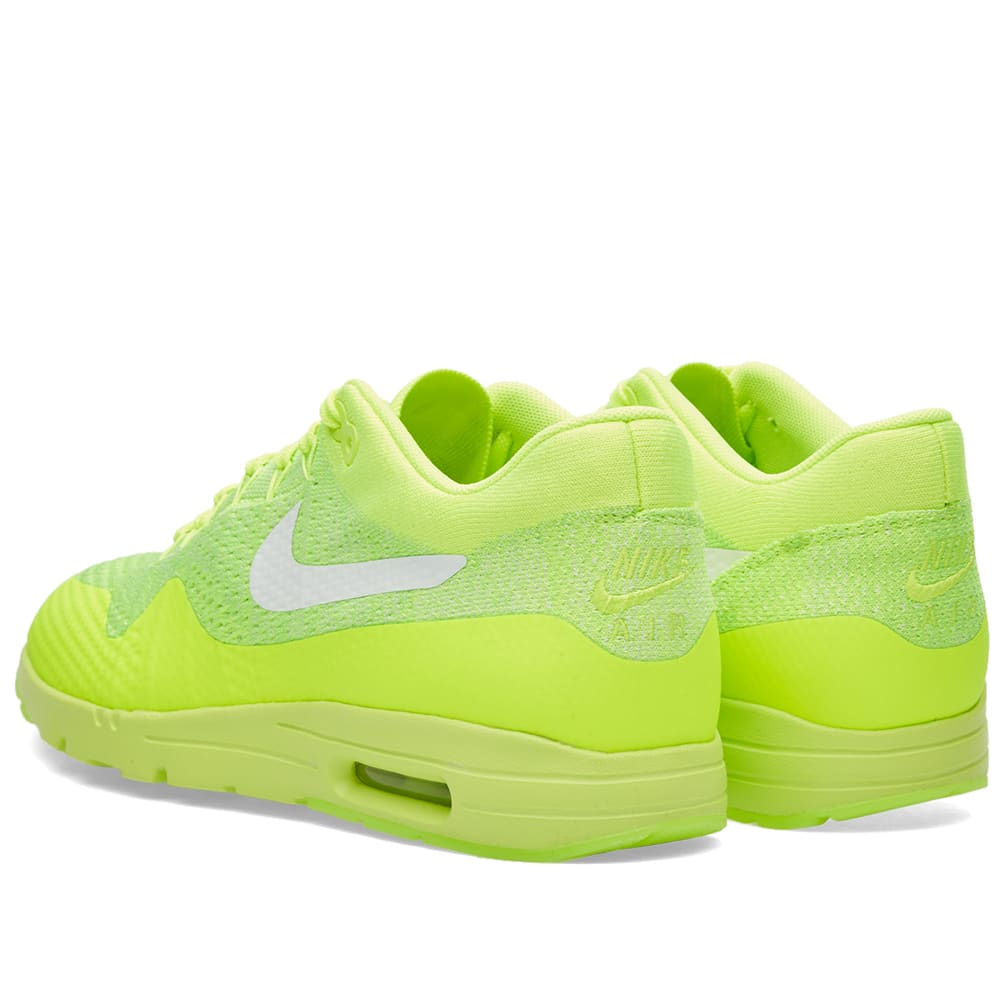 newest 12660 16a35 Nike W Air Max 1 Ultra Flyknit Volt, White   Electric Green   END.
