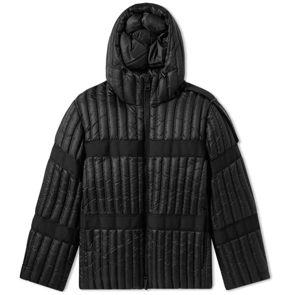 MONCLER GENIUS 黑色Halibut羽绒服 in 999 Black