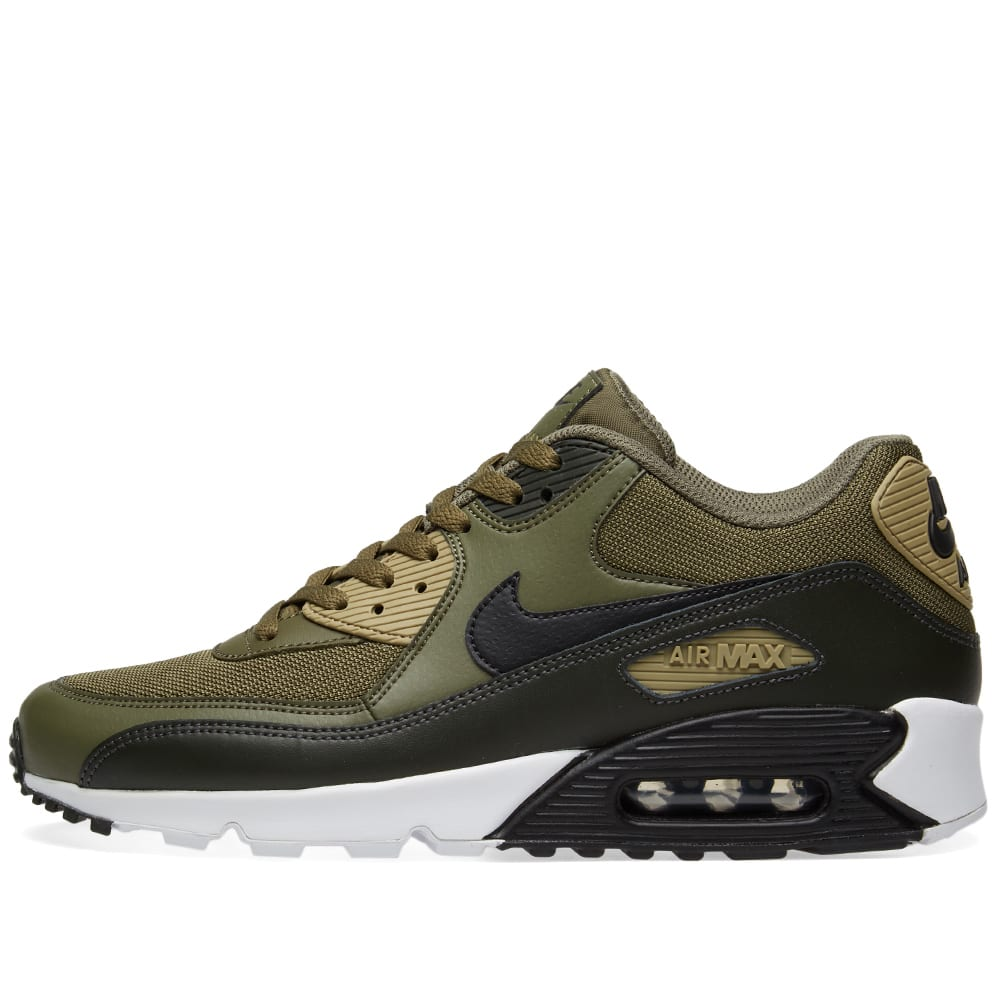 various colors fa9f4 cd897 Nike Air Max 90 Essential Olive, Black   Sequoia   END.