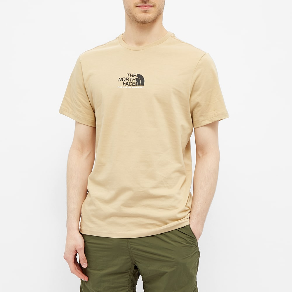 THE NORTH FACE Cottons The North Face Fine Alpine Equipment 3 Tee