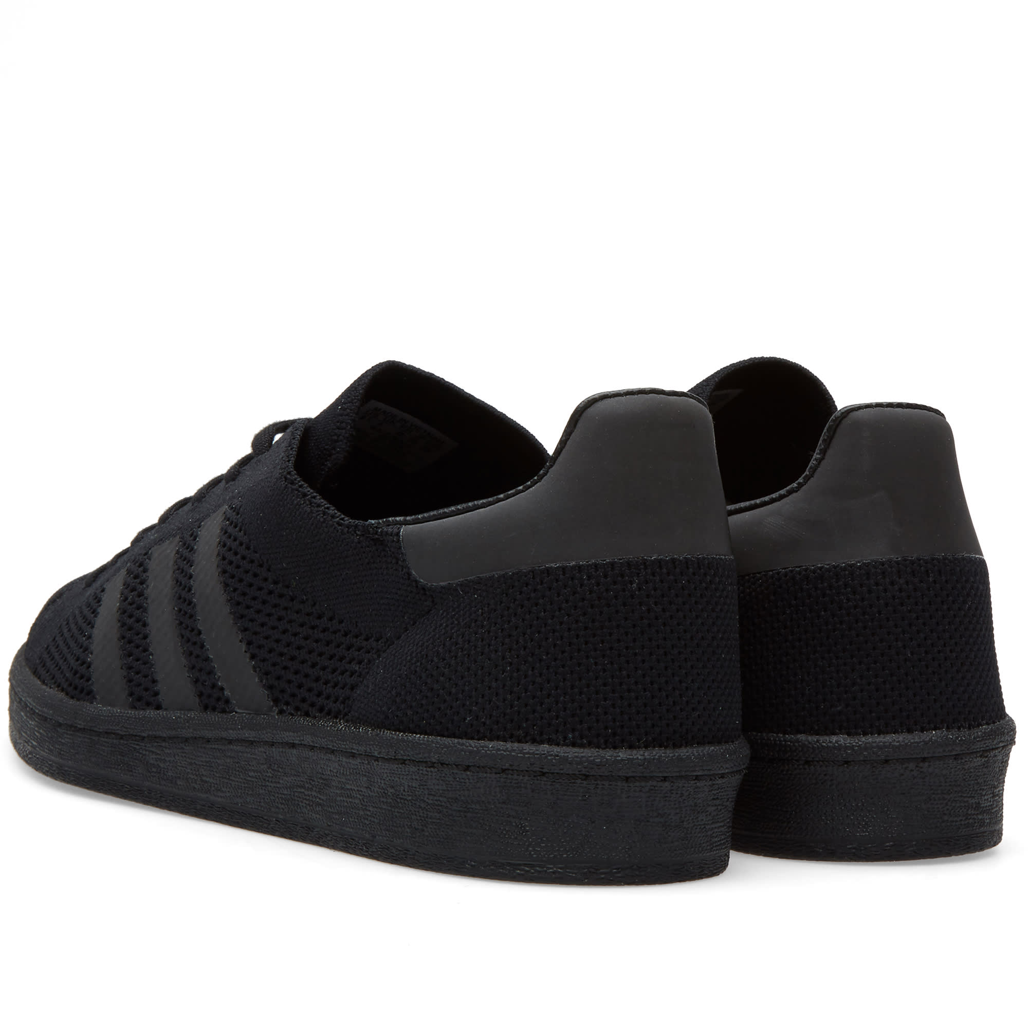 official photos 33e80 70033 Adidas Campus 80s Primeknit Core Black   END.