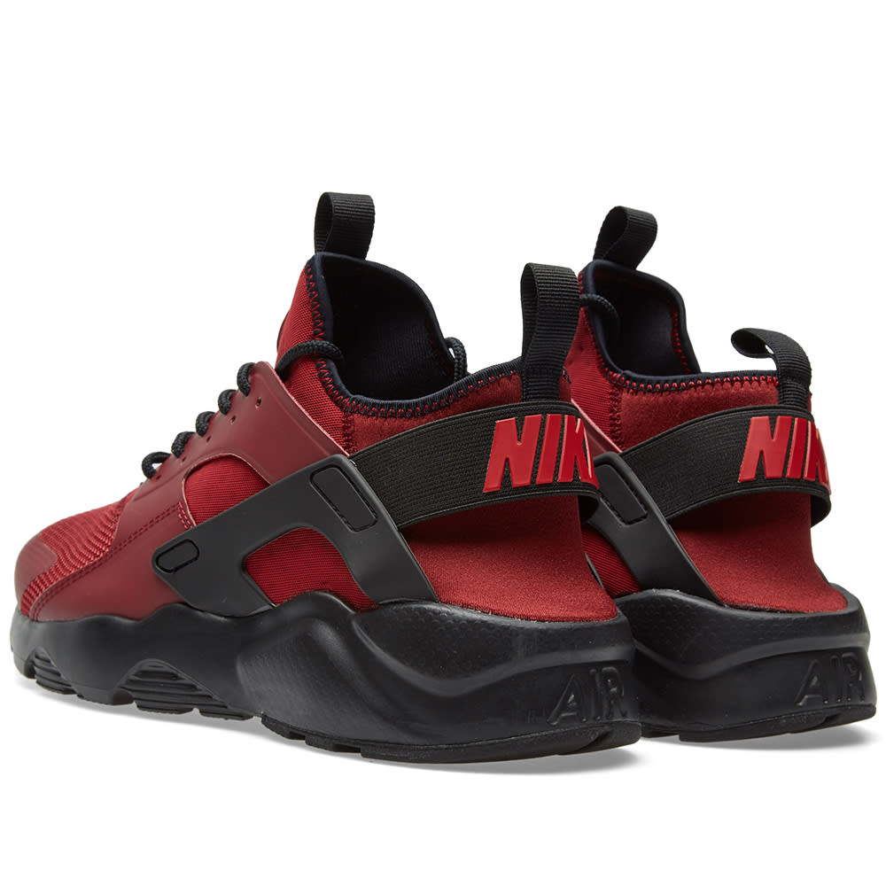 nike air huarache run ultra team red gym red. Black Bedroom Furniture Sets. Home Design Ideas