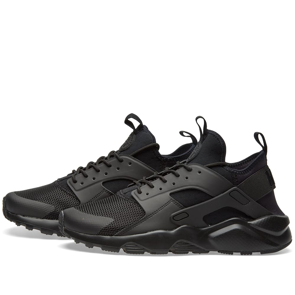 f01bea45429 Nike Air Huarache Run Ultra Triple Black