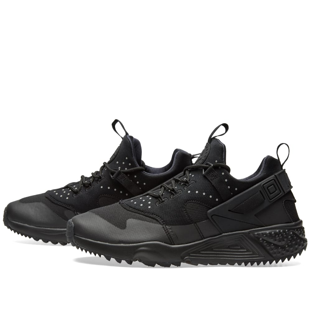 new products 997a8 20fb9 Nike Air Huarache Utility Black & Black | END.