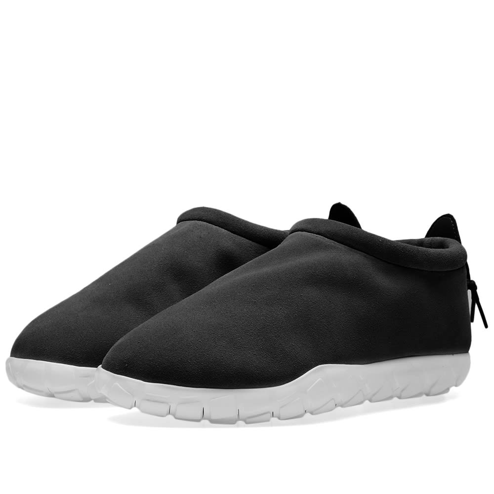 low cost 3c354 b0db8 Nike Air Moc Ultra Black   Anthracite   END.
