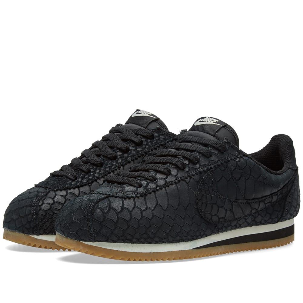 new arrival bbc84 0504c Nike Classic Cortez Leather Premium Black   Gum   END.