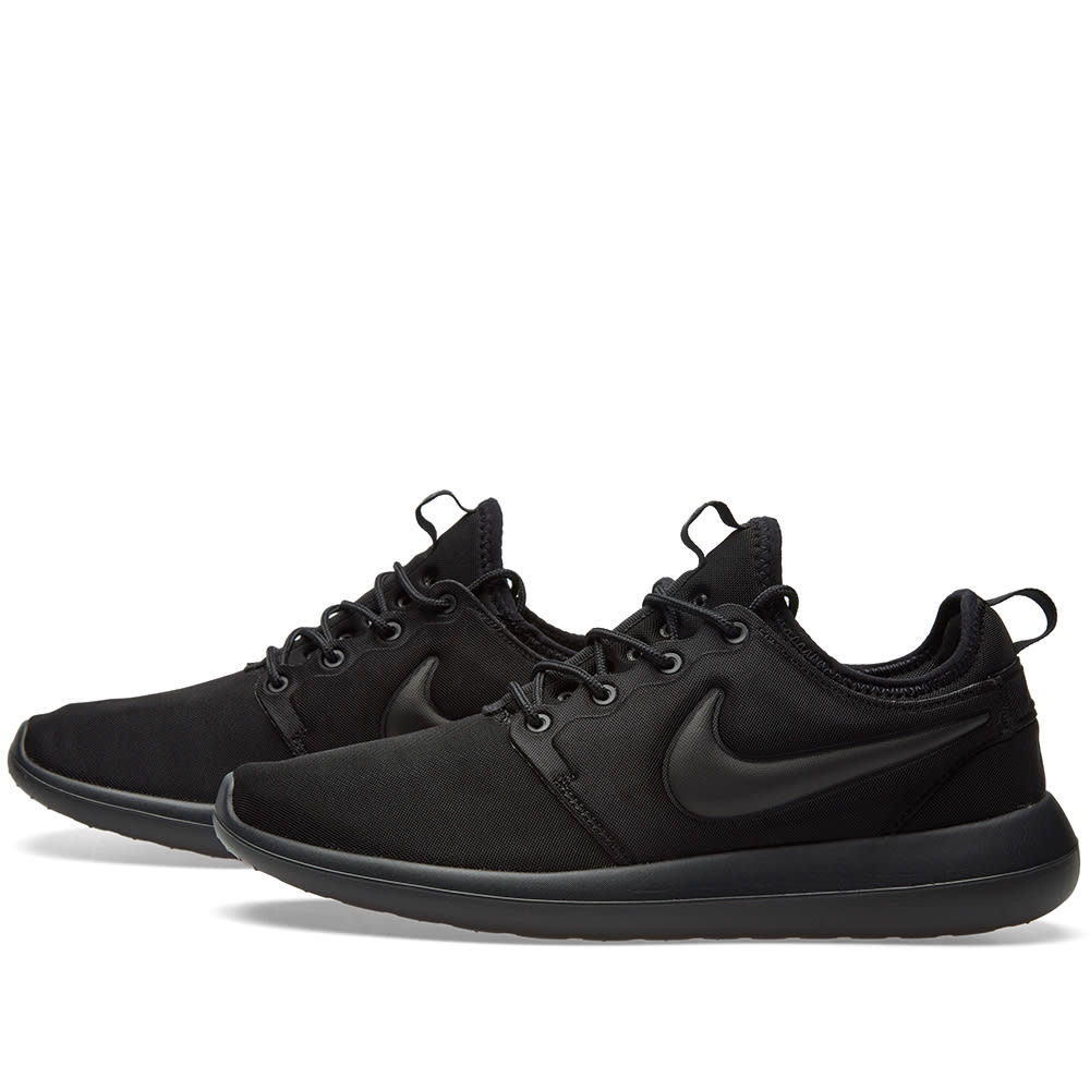 8a91814bb23c8 Nike Roshe Two Black   Black