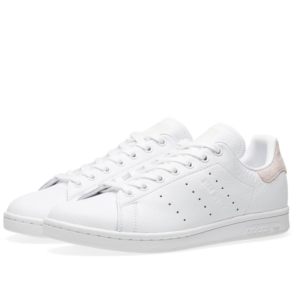 Adidas Stan Smith W White \u0026 Orchid Tint