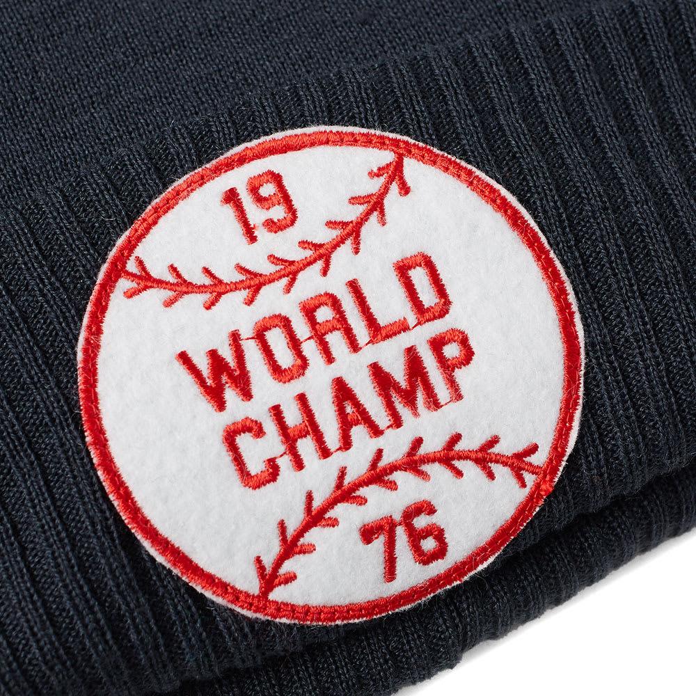 4d9d31a92 Champion x Beams Bobble Beanie Hat