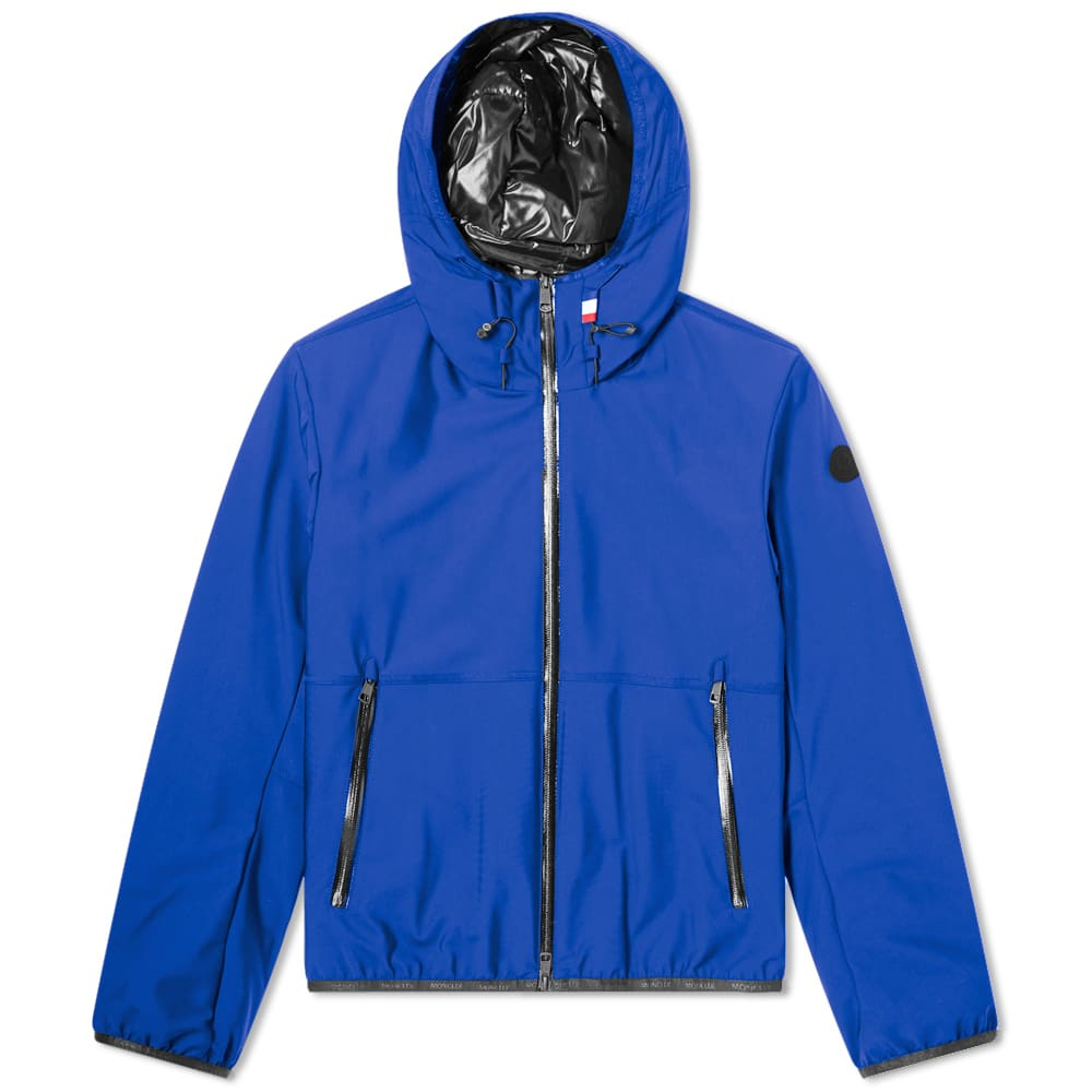Moncler Duport Hooded Soft Shell Jacket