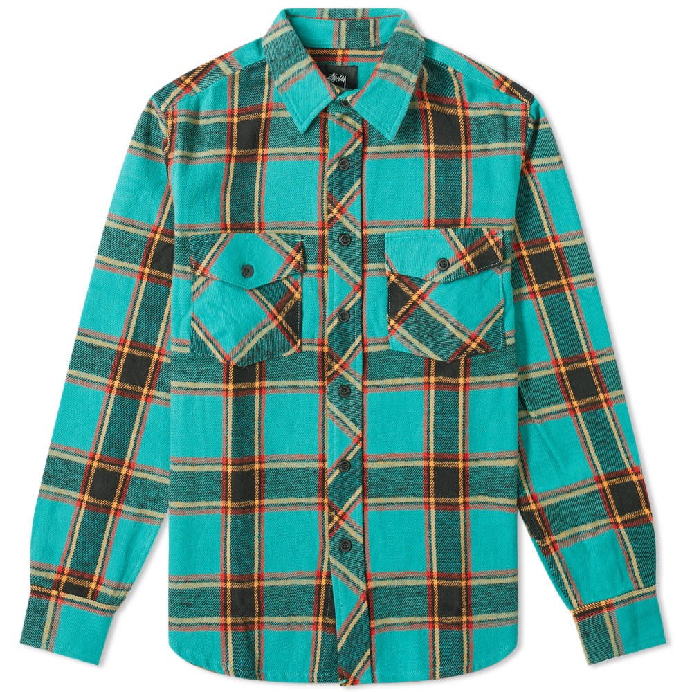 Plaid >> Stussy Ace Plaid Shirt