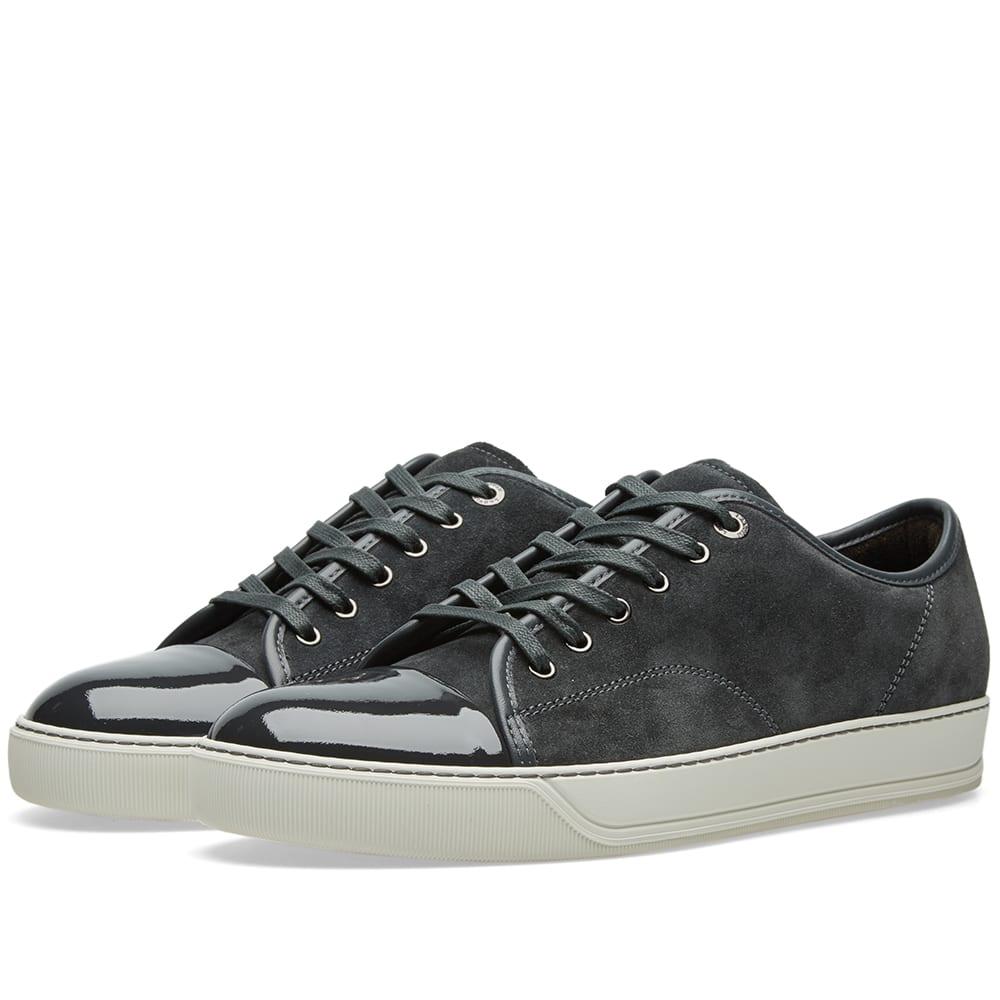 Lanvin Patent Toe Cap Low Sneaker