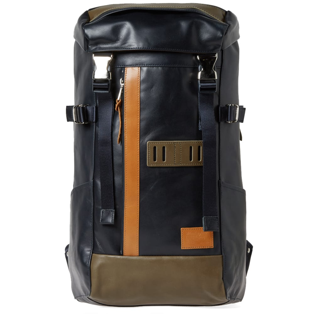 Master-Piece Leather Over Backpack 171f57801ac2e