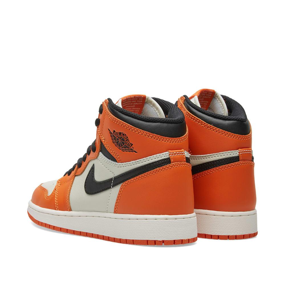 db0a23531f98 Nike Air Jordan 1 Retro High OG BG Sail