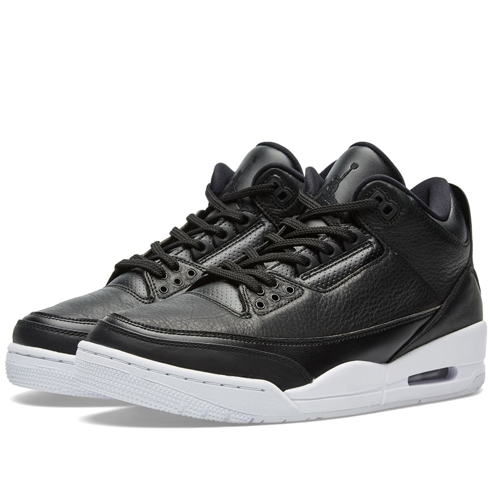 5e38b57135a05 Nike Air Jordan 3 Retro Black   White