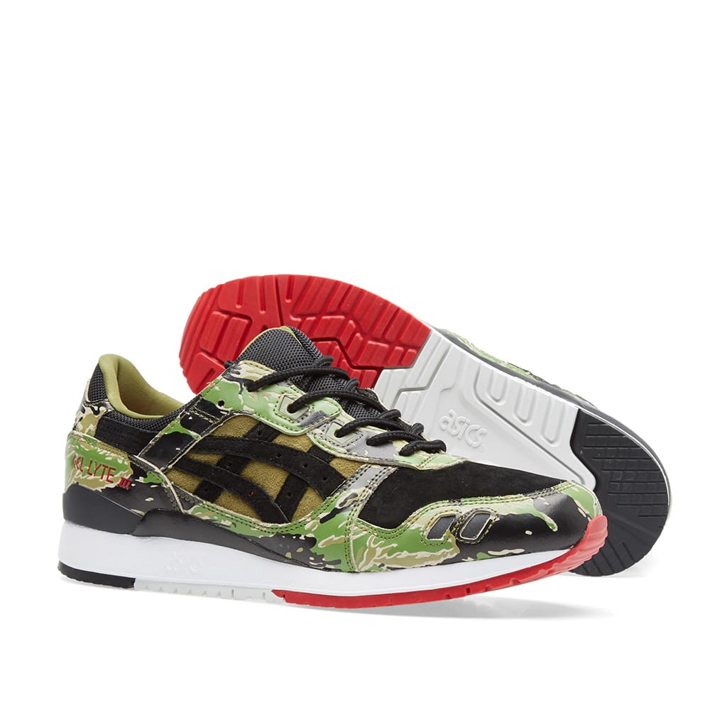 Atmos x Asics Gel lyte III 'Green Camo' – Above The Clouds