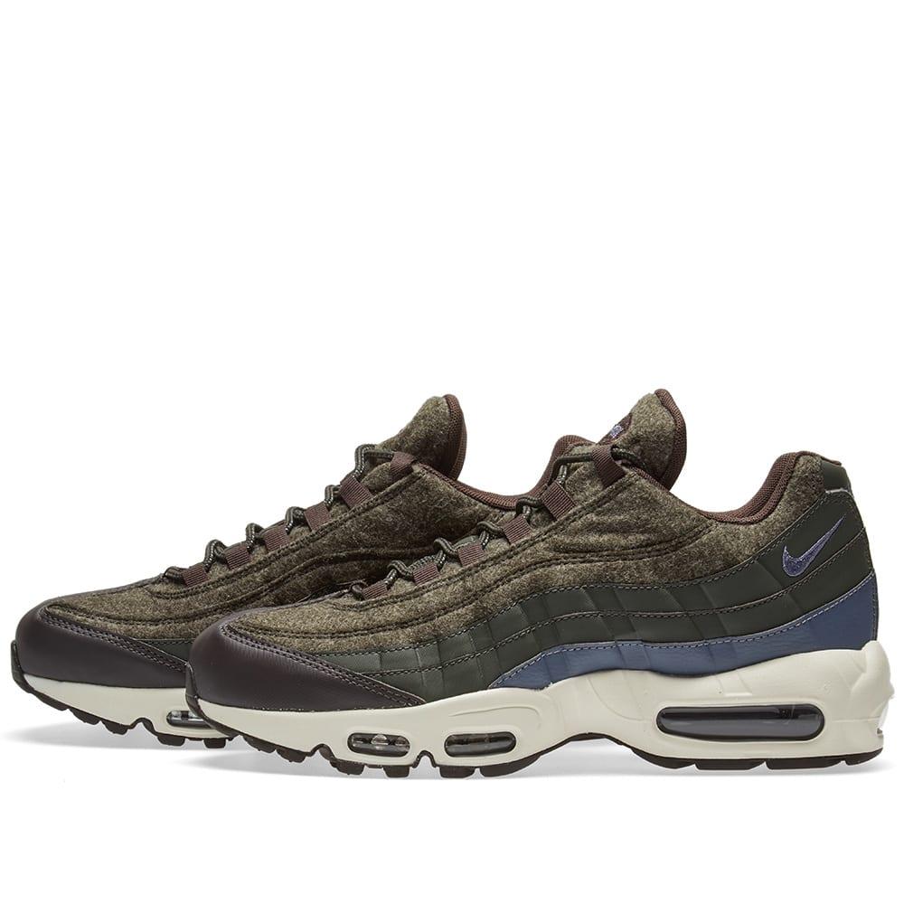 best sneakers f326f 7d03b nike air max 95 wool sequoia