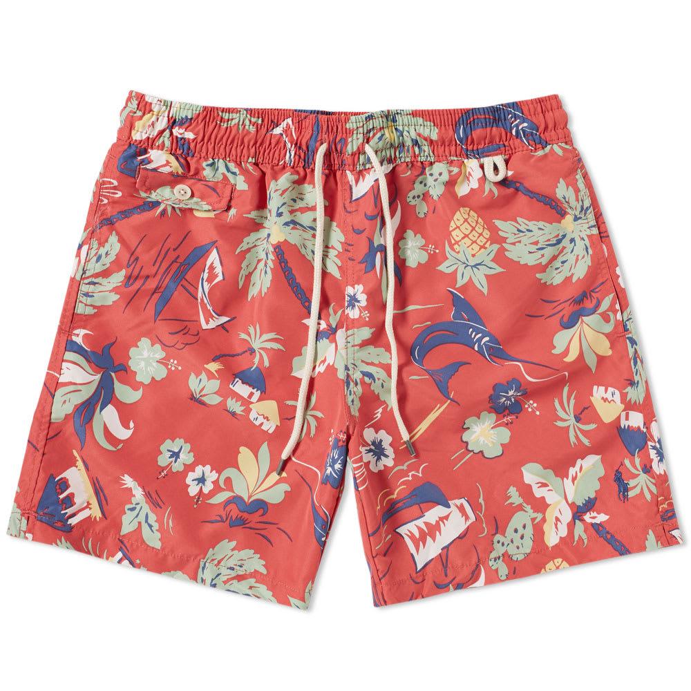 823838bee Polo Ralph Lauren Classic Traveller Swim Short Tropical Resort