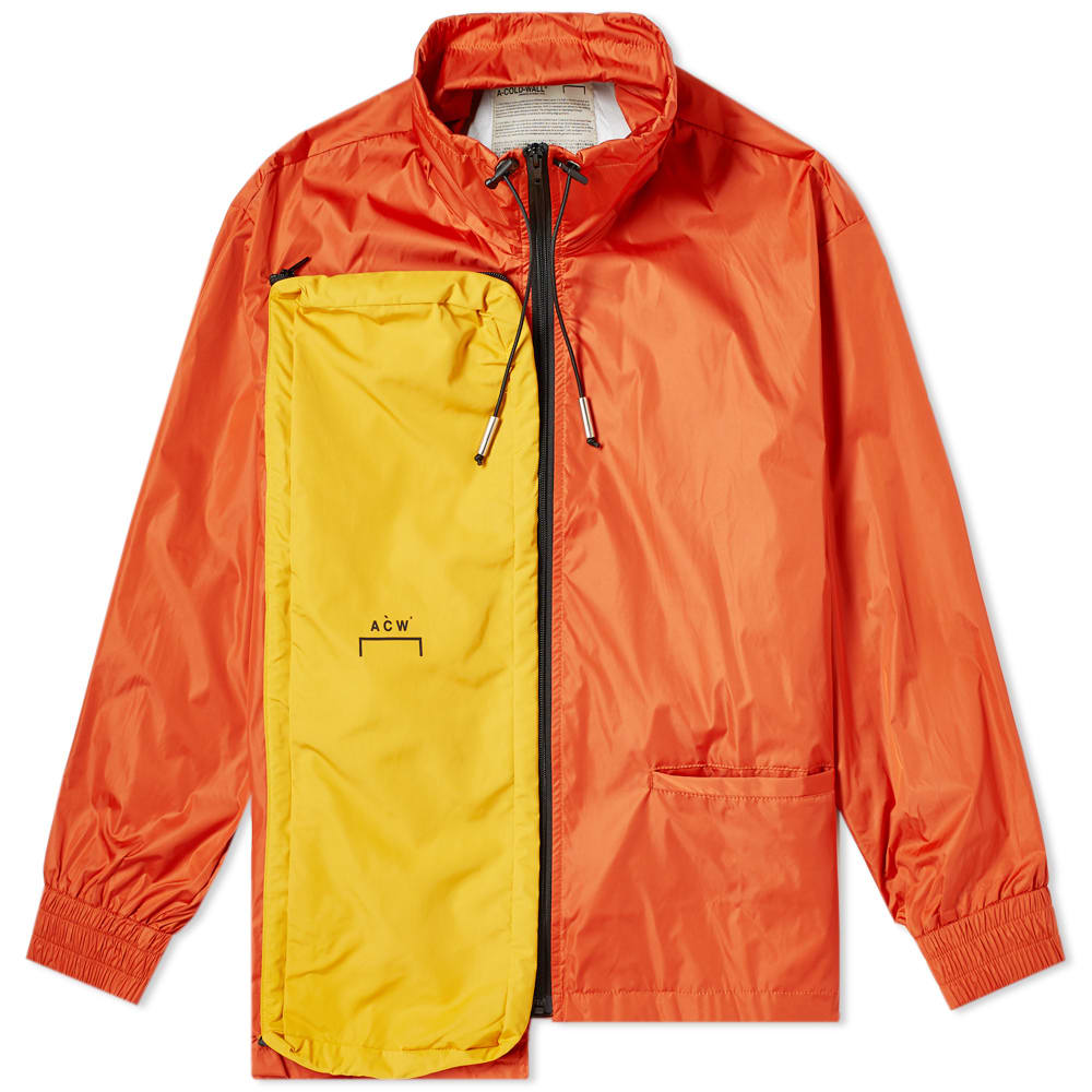 c4f74b0d A-COLD-WALL* Multi Zip Jacket Orange | END.