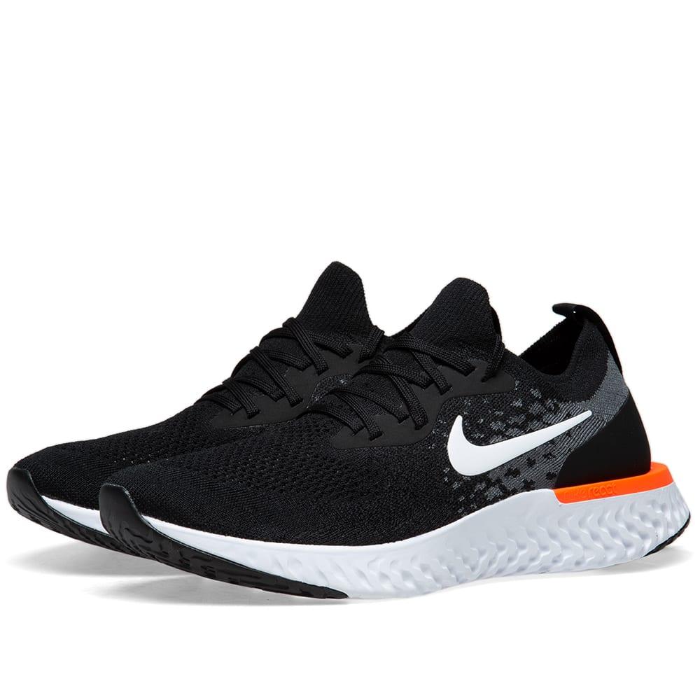 57126742bbbf Nike Epic React Flyknit Black