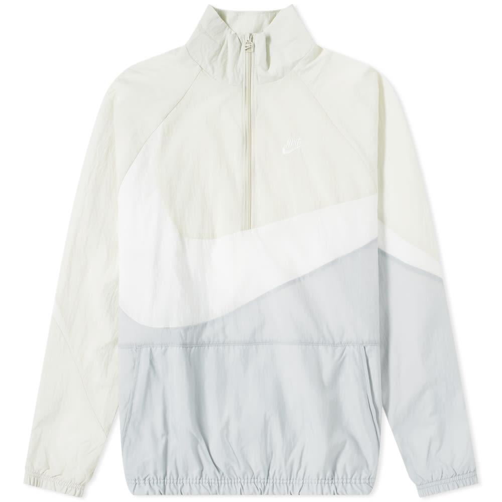 e04459601 Nike NSW Swoosh Woven Half Zip Jacket