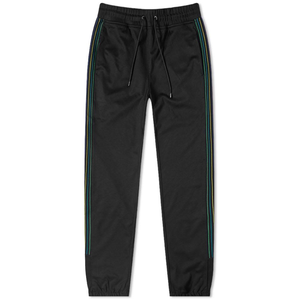 Paul Smith Stitch Stripe Track Pant In Black