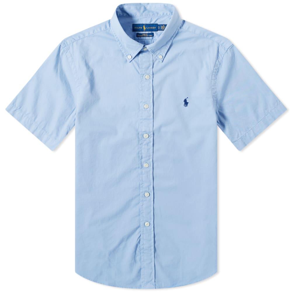 Polo Ralph Lauren Short Sleeve Garment Dyed Button Down Shirt