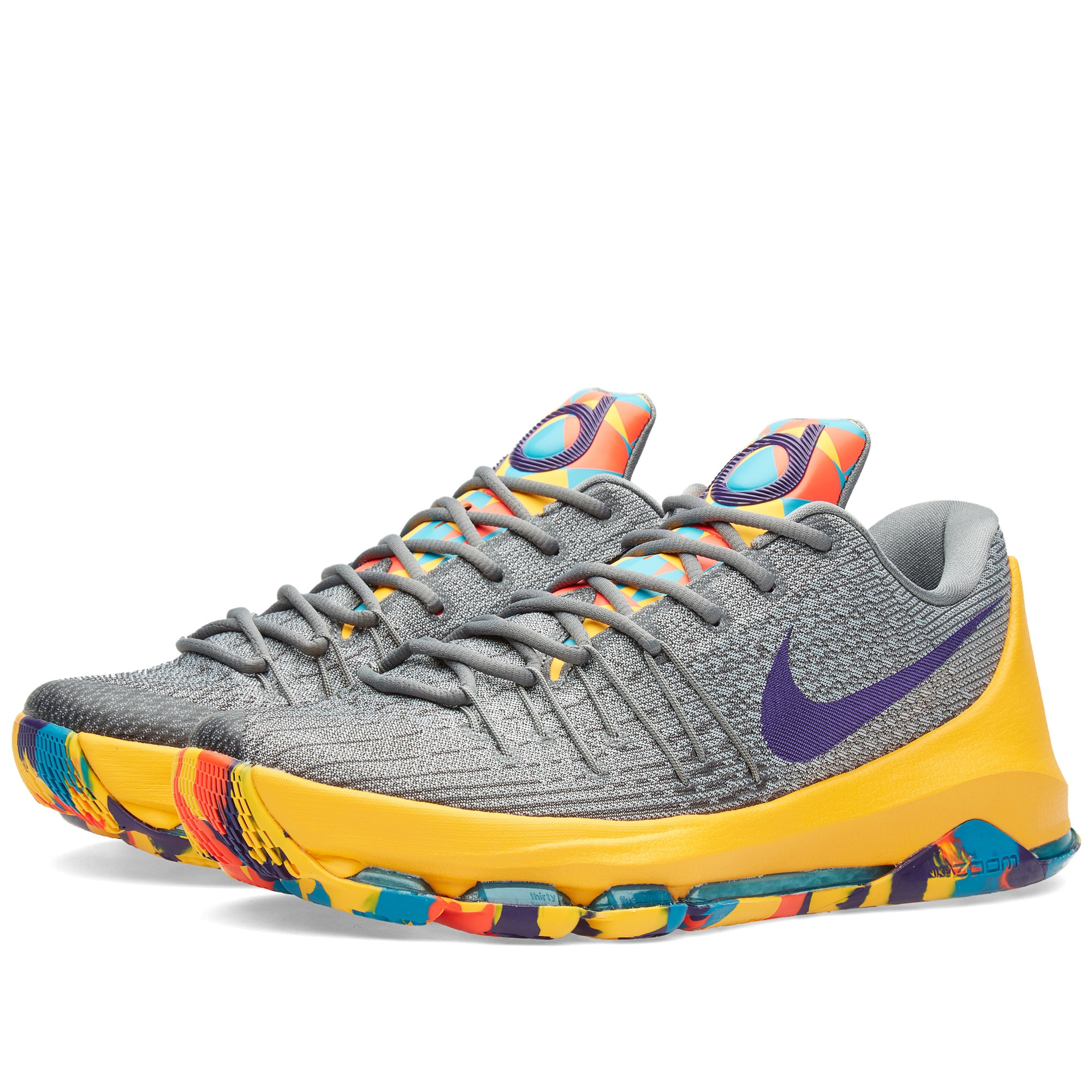 separation shoes 67ccf 7b0f5 Nike KD 8  P.G. County  Wolf Grey   Court Purple   END.